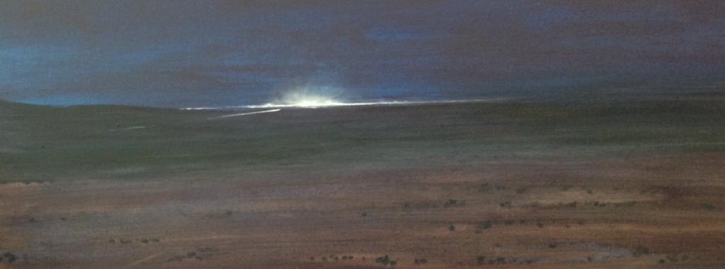 'Midnight Beacon' (detail) by Ian Robertson