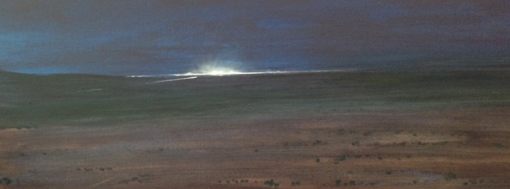 'Midnight Beacon' (detail) by Ian Robertson